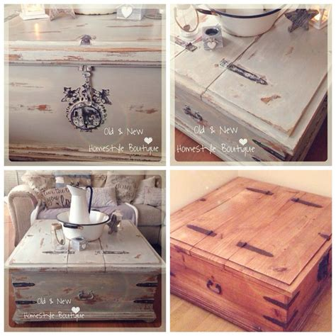 I've given this old Mexican pine chest a makeover using