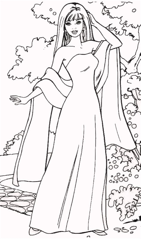 Fashionable Coloring Pages 2 Barbie Fashion Coloring Pages by Fashionable Coloring Pages 2