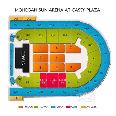 Mohegan Sun Arena Floor Plan by Mohegan Sun Arena At Casey Plaza Tickets Mohegan Sun