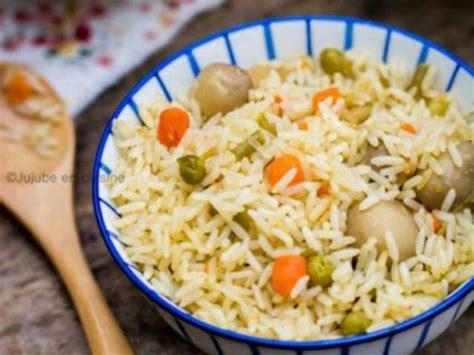 recettes de riz et chignons 2