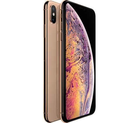 apple iphone xs max  gb gold fast delivery currysie