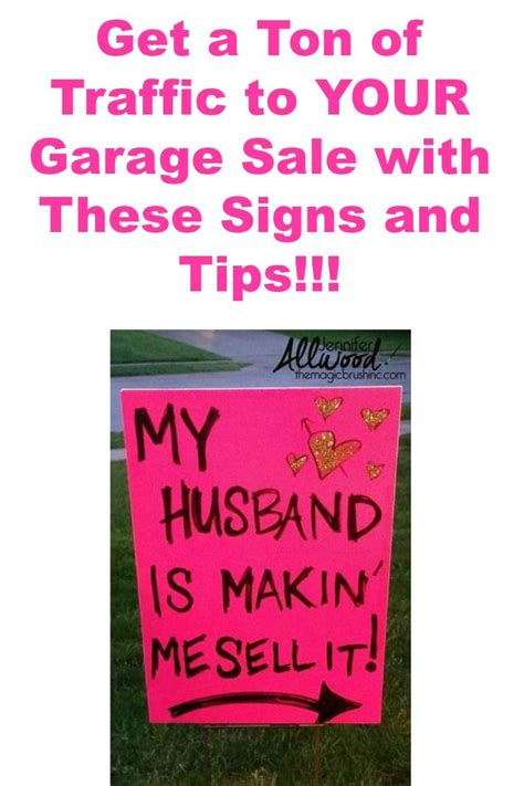Where To Advertise Garage Sales by 1000 Ideas About Garage Sale Signs On Yard