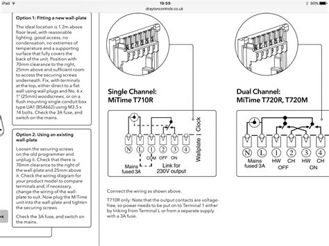 wiring diagram for wireless room thermostat wiring car