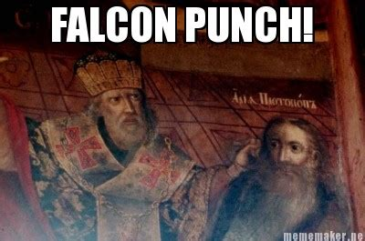 Falcon Punch Meme - falcon punch catholic memes