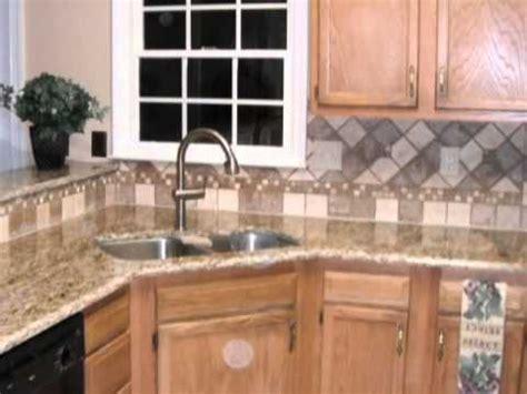 tile backsplash designs spice   granite countertops