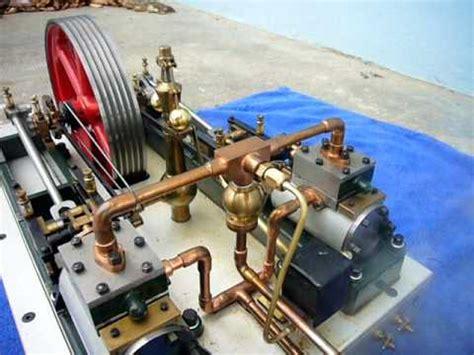 stuart twin victoria live steam engine at ataf club tessin stuart victoria twin steam engine live steam echtdf