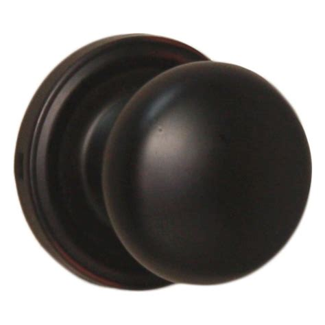 schlage plymouth rubbed bronze and closet knob