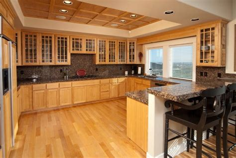 wood floors in kitchen 25 kitchens with hardwood floors