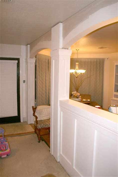 Living Room Wainscoting Photos Remodelaholic Living Room Update 4 Installing