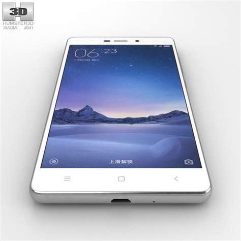 3d Xiaomi Redmi 3 xiaomi redmi 3 silver 3d model humster3d