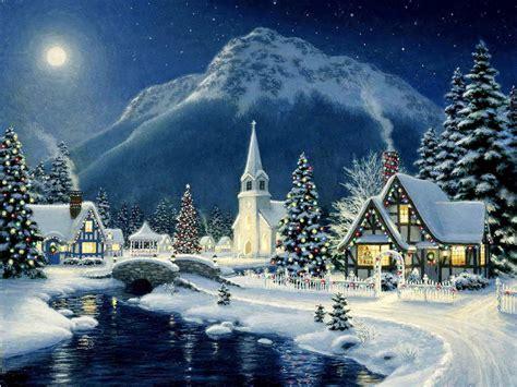 mountain christmas wallpaper  wallpapersafari