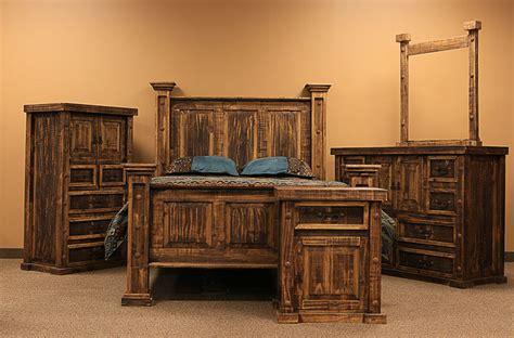 dallas designer furniture rough pine rustic bedroom set