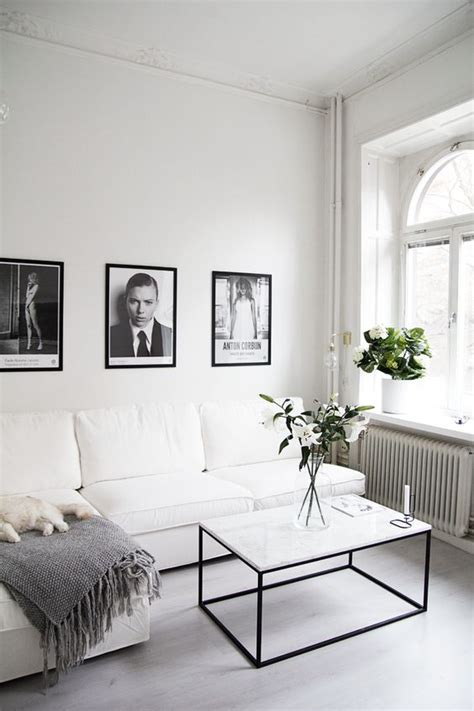 Black And White Living Room by 48 Black And White Living Room Ideas Decoholic