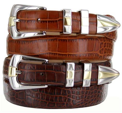 s designer italian leather dress belt