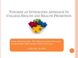 ppt health promotion strategies: taking a best practices