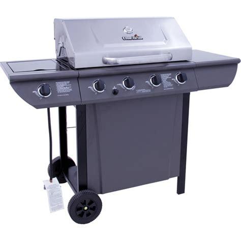 char broil 4 burner stainless steel gas grill with cabinet char broil 48 000 btu 4 burner gas grill stainless steel lid walmart