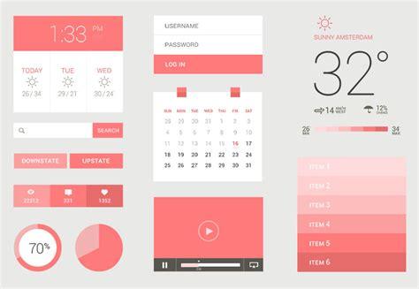 us design application search 25 flat ui kits for web designers webdesigner depot