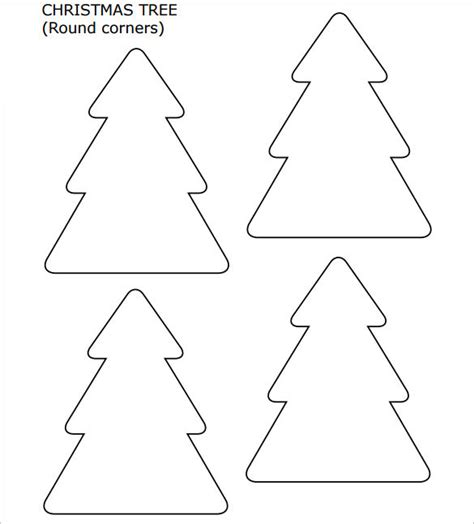 how to shape a christmas tree 22 tree templates free printable psd eps png pdf format free