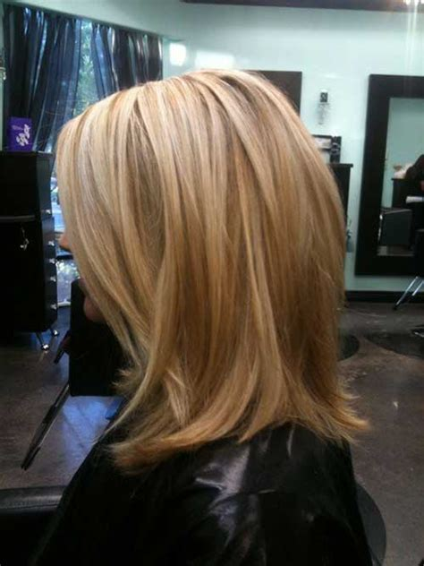 minimally stacked bob 15 cute hairstyles for short layered hair short