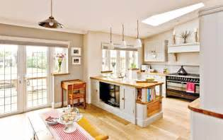Country Kitchen Diner Ideas Open Plan Family Kitchen Diner Real Homes