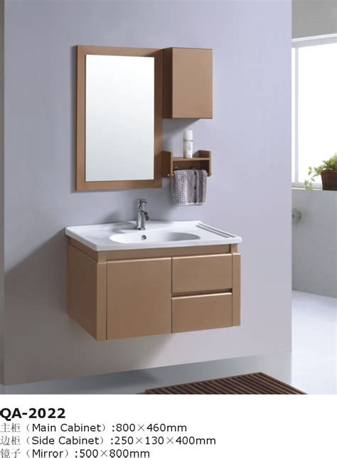 brown bathroom cabinets wall mounted brown bathroom vanity cabinet set gbw058