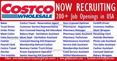 wholesale in usa vacancies at costco wholesale usa