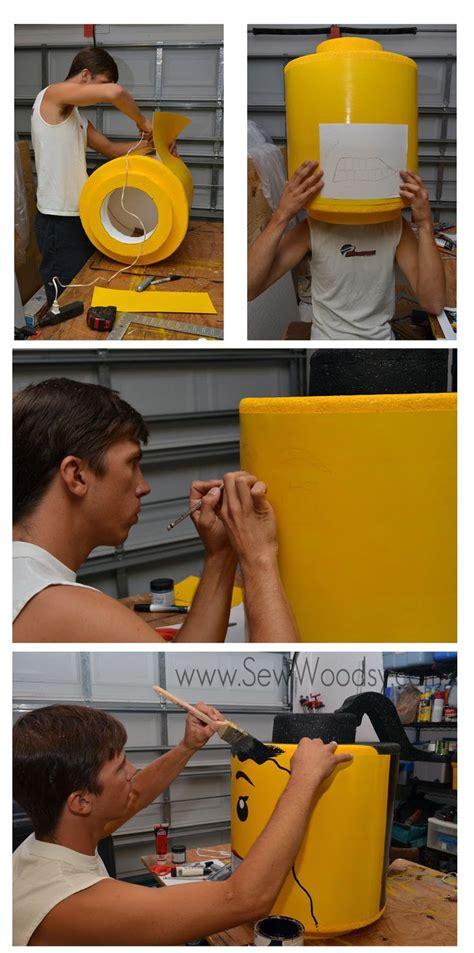 tutorial lego man the train to crazy handmade costume series diy lego