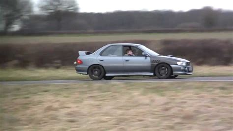 subaru rb5 spec subaru impreza turbo rb5 with through exhaust on