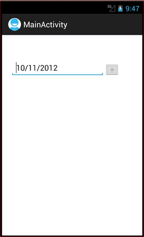 format date android android datepicker java tutorial blog