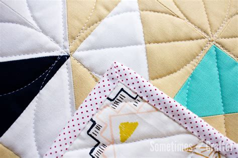 Mitre Corners On Quilt Binding by Binding Perfectly Mitered Corners Sometimes Crafter