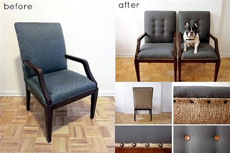 how to upholstery 28 before after reupholstered chairs