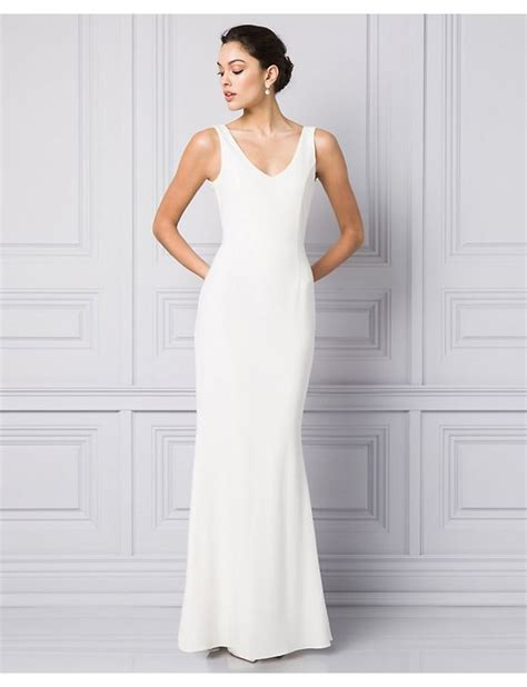 Plain Wedding Dresses by 12 Plain Wedding Dresses For The Minimalist Flare