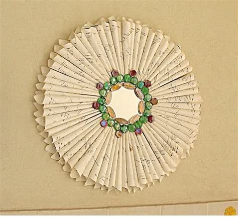 Hanging Paper Craft - wall hanging craft free craft patterns craft freebies