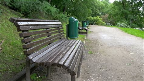 the green benches the green bench from toome hill park by nordicstocks