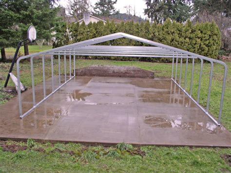 Steel Frame Carport Kits Backyard Swing Plans Woodworking Hardware And Tools