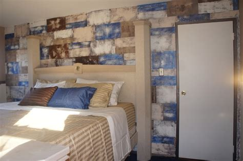 stone accent wall bedroom stacked stone accent wall