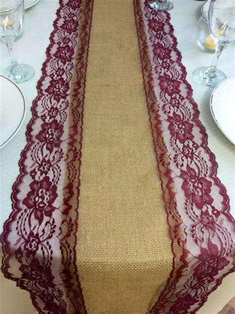 burgundy lace table runner 17 best ideas about lace wedding centerpieces on