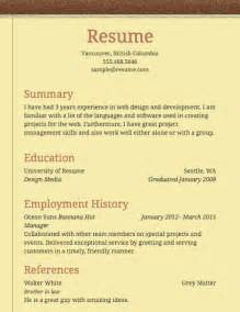 Basic Resume Exles For by Basic Resume Exles Berathen