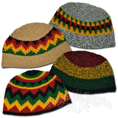 Wholesale Home Decor Online rasta multi color skull cap rastaempire com