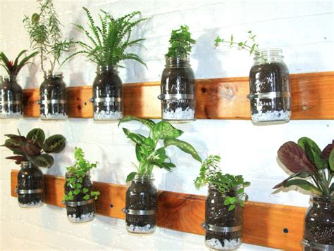 Hanging Wall Planter by 6 Creative Hanging Gardens That You Can Make Yourself