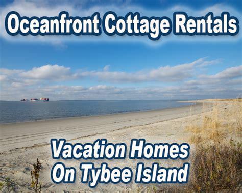 oceanfront cottage rentals tybee island tybee island ga