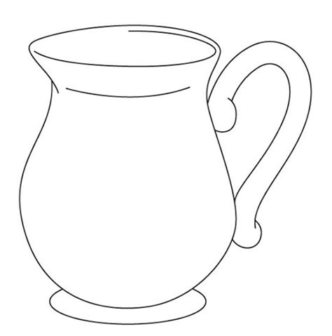 water jug coloring page free coloring pages of jug