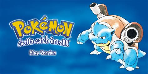 Pokémon Blue Version   Game Boy   Games   Nintendo