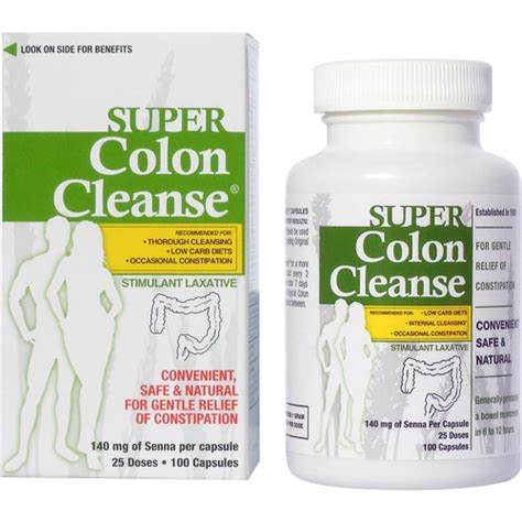 P Clean Detox Walmart by Colon Cleanse Stimulant Laxative Capsules 100 Count
