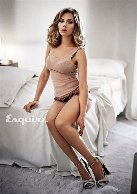 Scarlett Johansson Is Esquire S Sexiest Woman Alive For Nd Time Daily Mail Online
