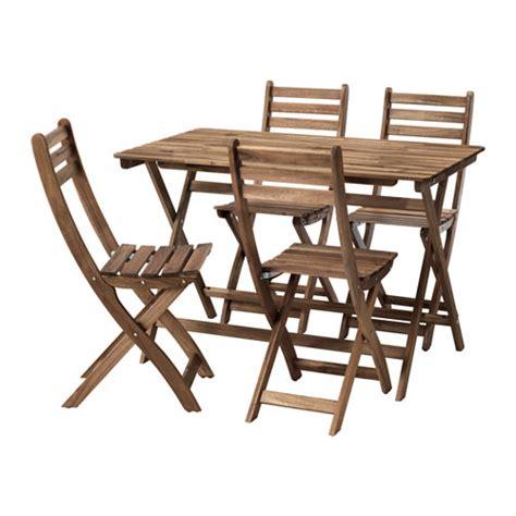 sedie da giardino ikea askholmen tavolo 4 sedie da giardino ikea