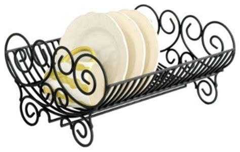 Decorative Dish Rack by Iron Dish Rack Mediterranean Dish Racks By Ballard Designs