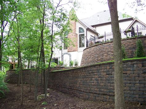 retaining and landscape wall imperial mo photo