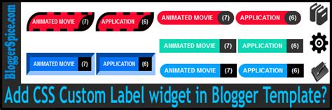 design label in css add css custom label widget in blogger template