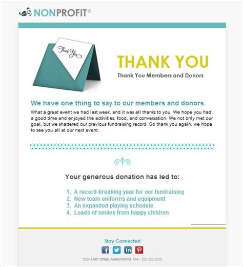thank you email template 92 best images about email templates from constant contact